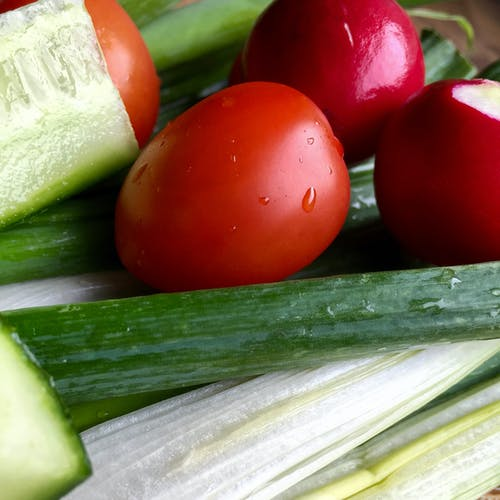 Free stock photo of healthy diet, nature, salad, tomato