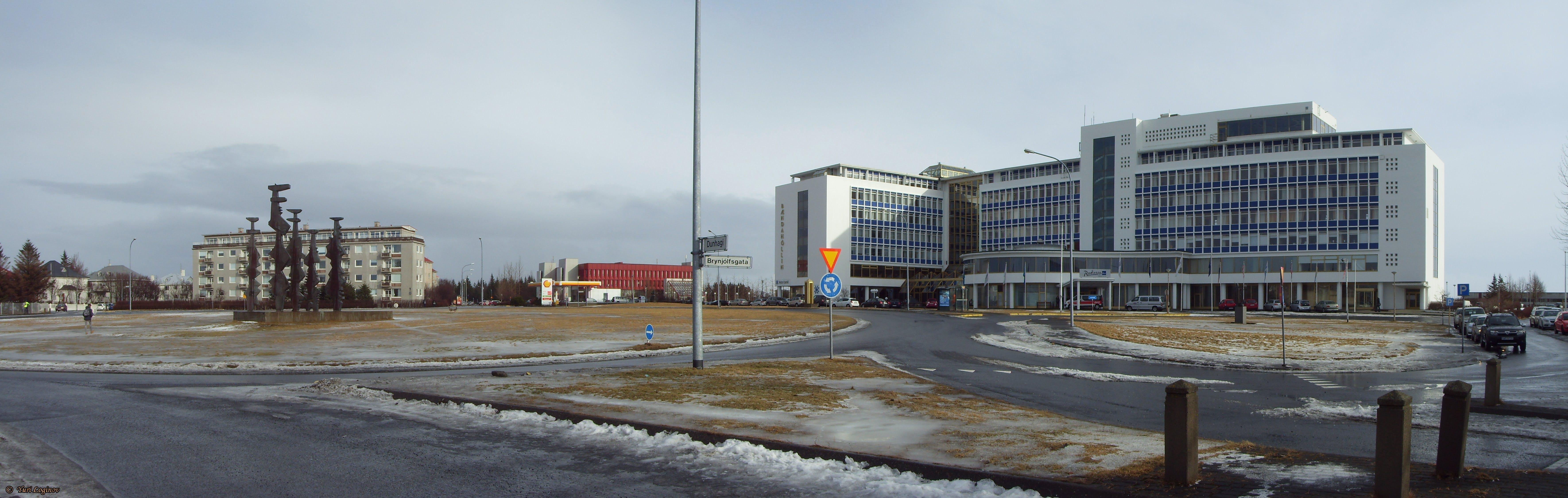 Free stock photo of iceland, island, reykjavik, Radisson Blu Saga Hotel