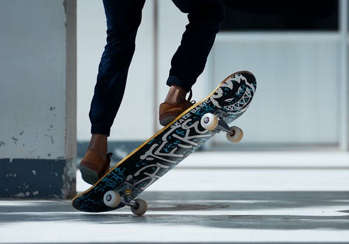 Person Playing Skateboard