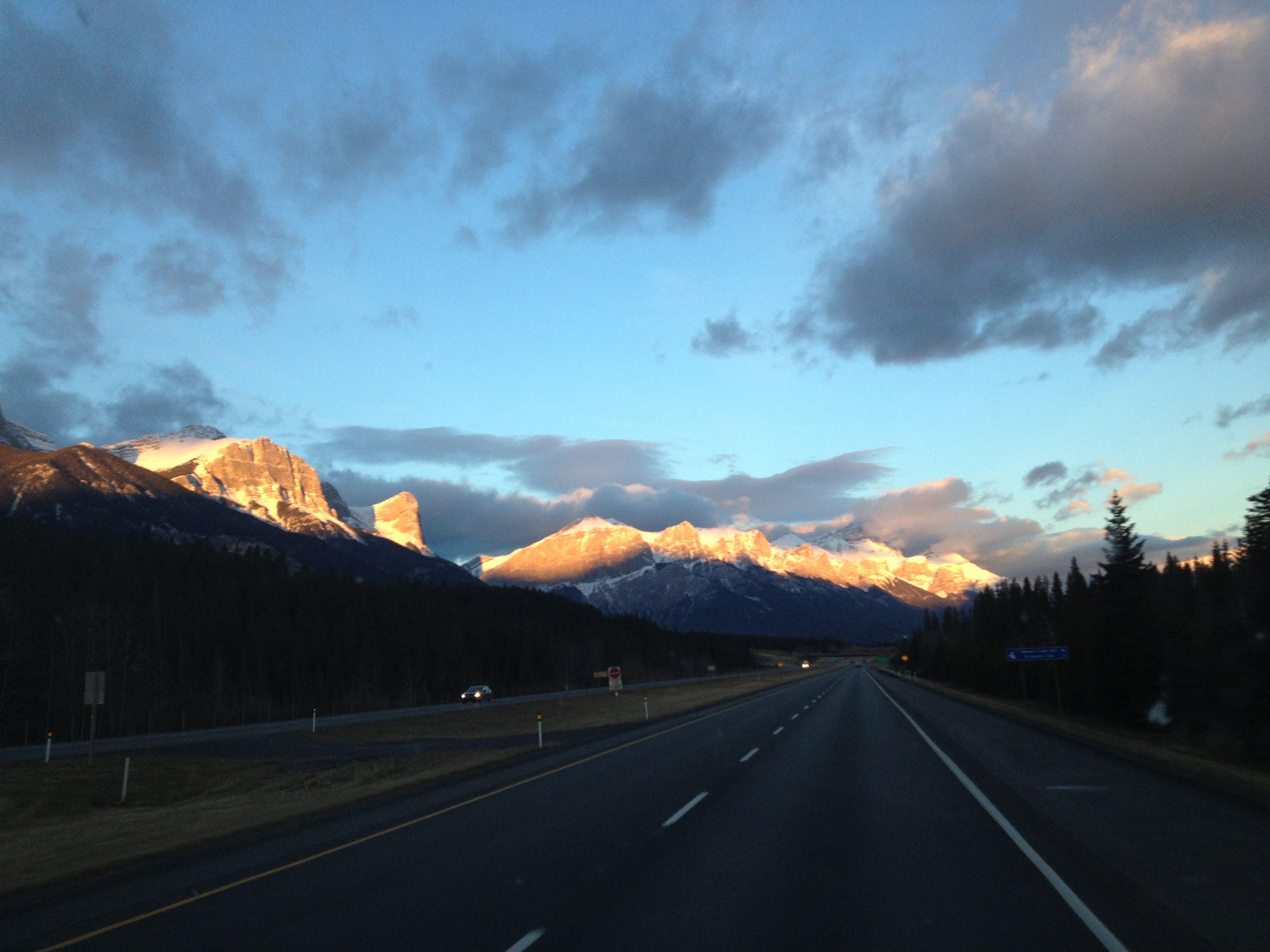 Free stock photo of Alberta, canada, highway, mountains