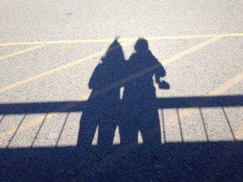兔子耳朵, 朋友, 陰影 的 免费素材照片