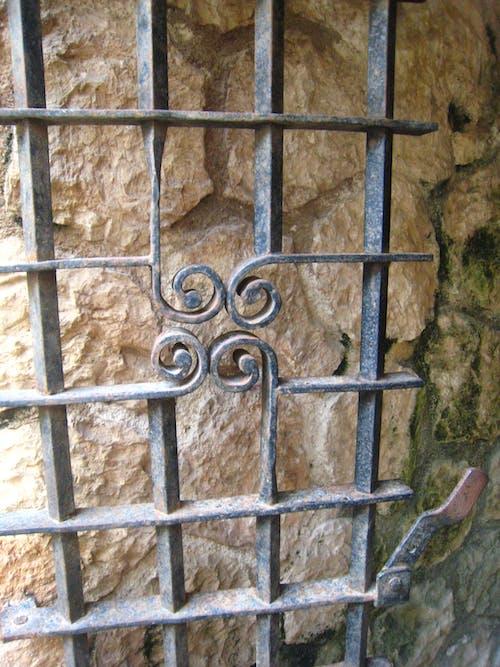 Gratis arkivbilde med rock, wire gate