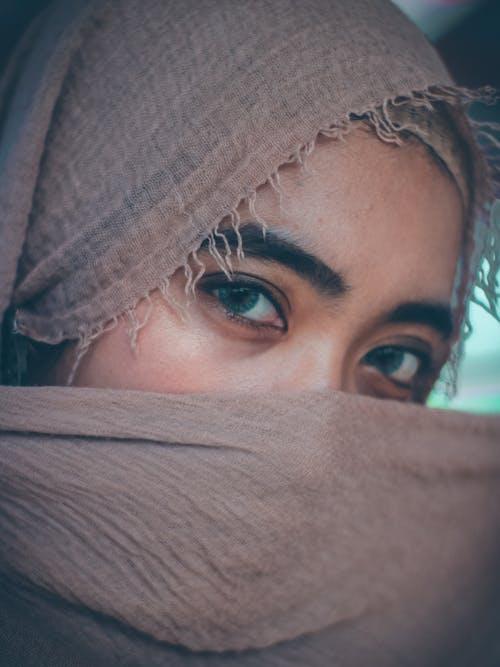 Ingyenes stockfotó ázsiai lány, gyönyörű lány, gyönyörű szemek, hidzsáb témában