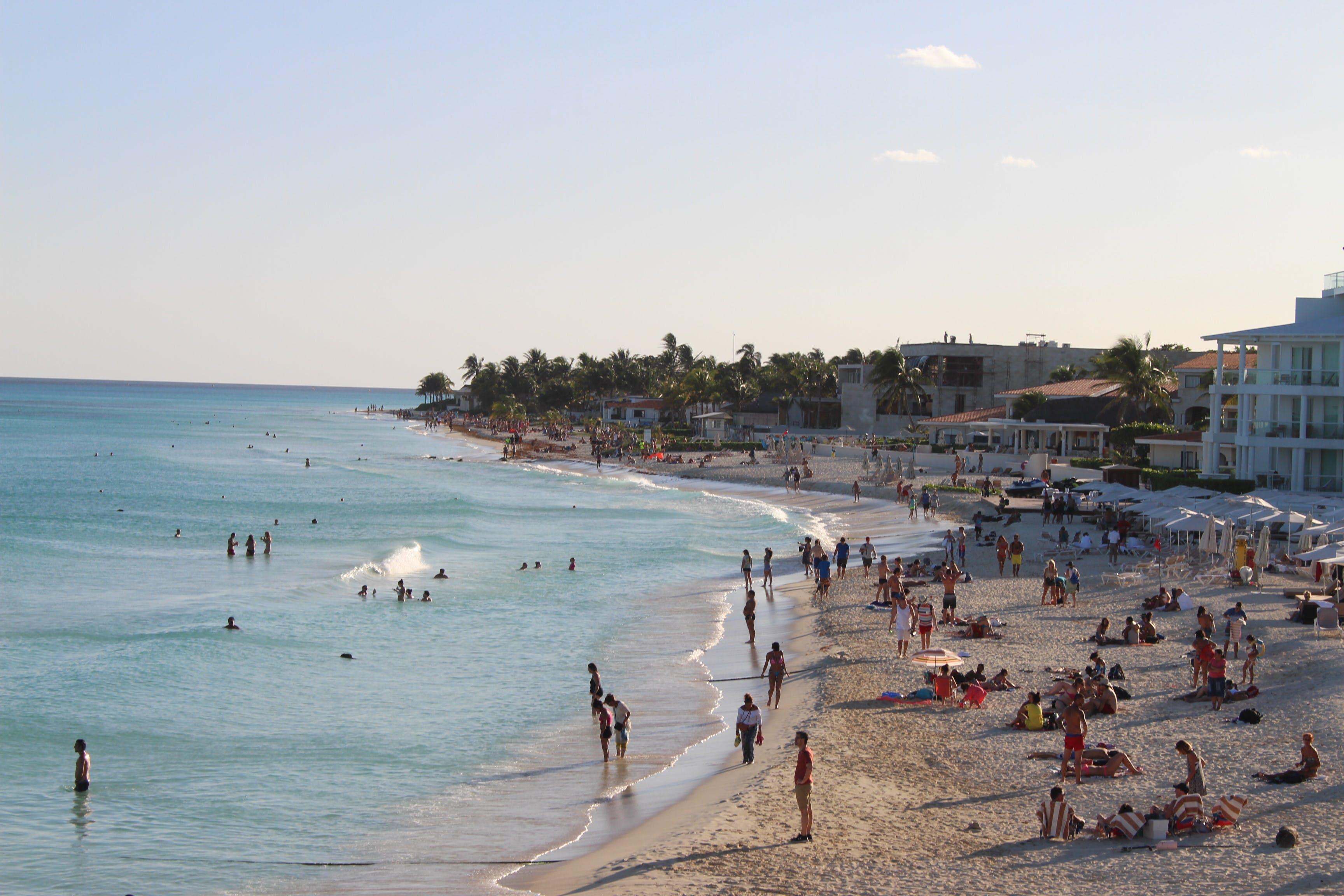 Free stock photo of beach, hotel, ocean, sea