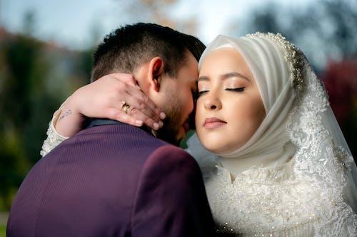 Foto stok gratis #weddingphotography, foto pernikahan, fotografi kecepatan tinggi, mempelai wanita