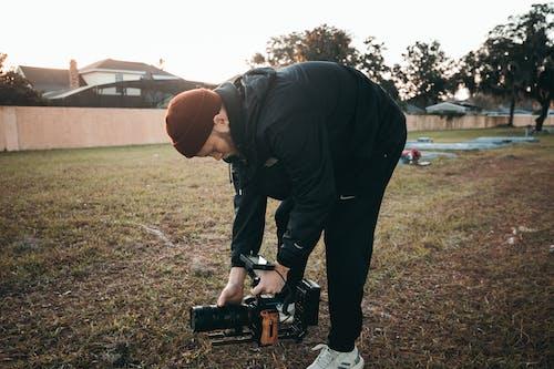 Безкоштовне стокове фото на тему «відеографія, відеокамера, відеообладнання, відеооператор»