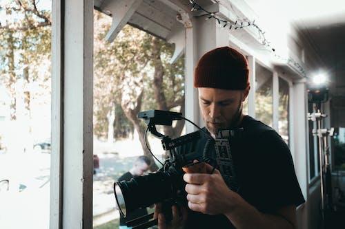 Kostenloses Stock Foto zu arbeiten, ausleuchtung, ausrüstung, cam op