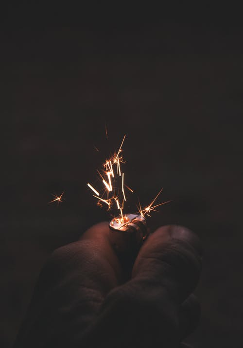 Immagine gratuita di accendino, fotografia ad alta velocità, scintille