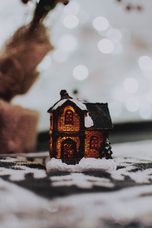 Brown House Miniature