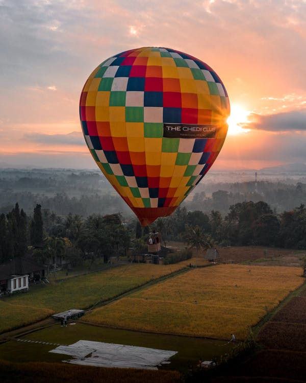 Photo of Colorful Hot Air Balloon
