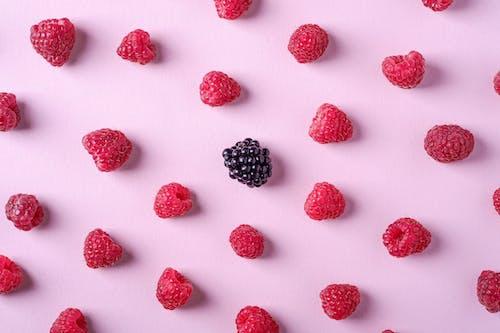 Immagine gratuita di abbondanza, blackberry, cibo, colore