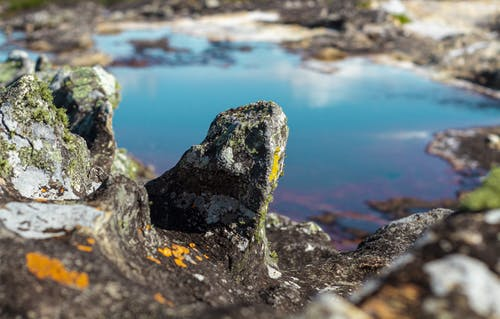 Δωρεάν στοκ φωτογραφιών με βράχια, βραχώδης, βρύα βρύα, γαλαζοπράσινος