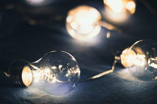 Ingyenes stockfotó fény, izzók, kék, meleg fény témában