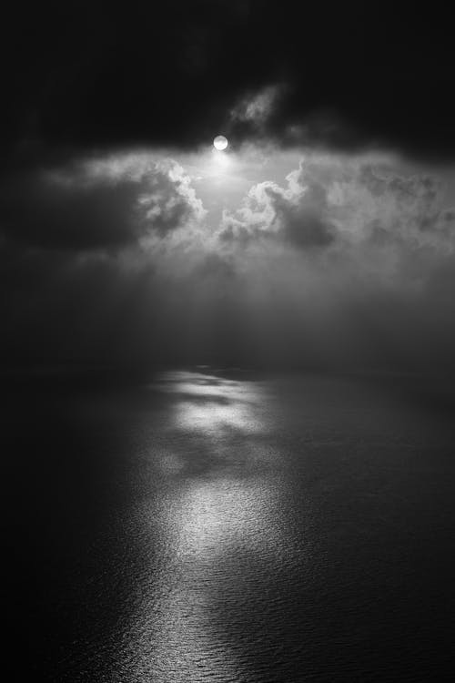 Fotos de stock gratuitas de abstracto, agua, blanco y negro