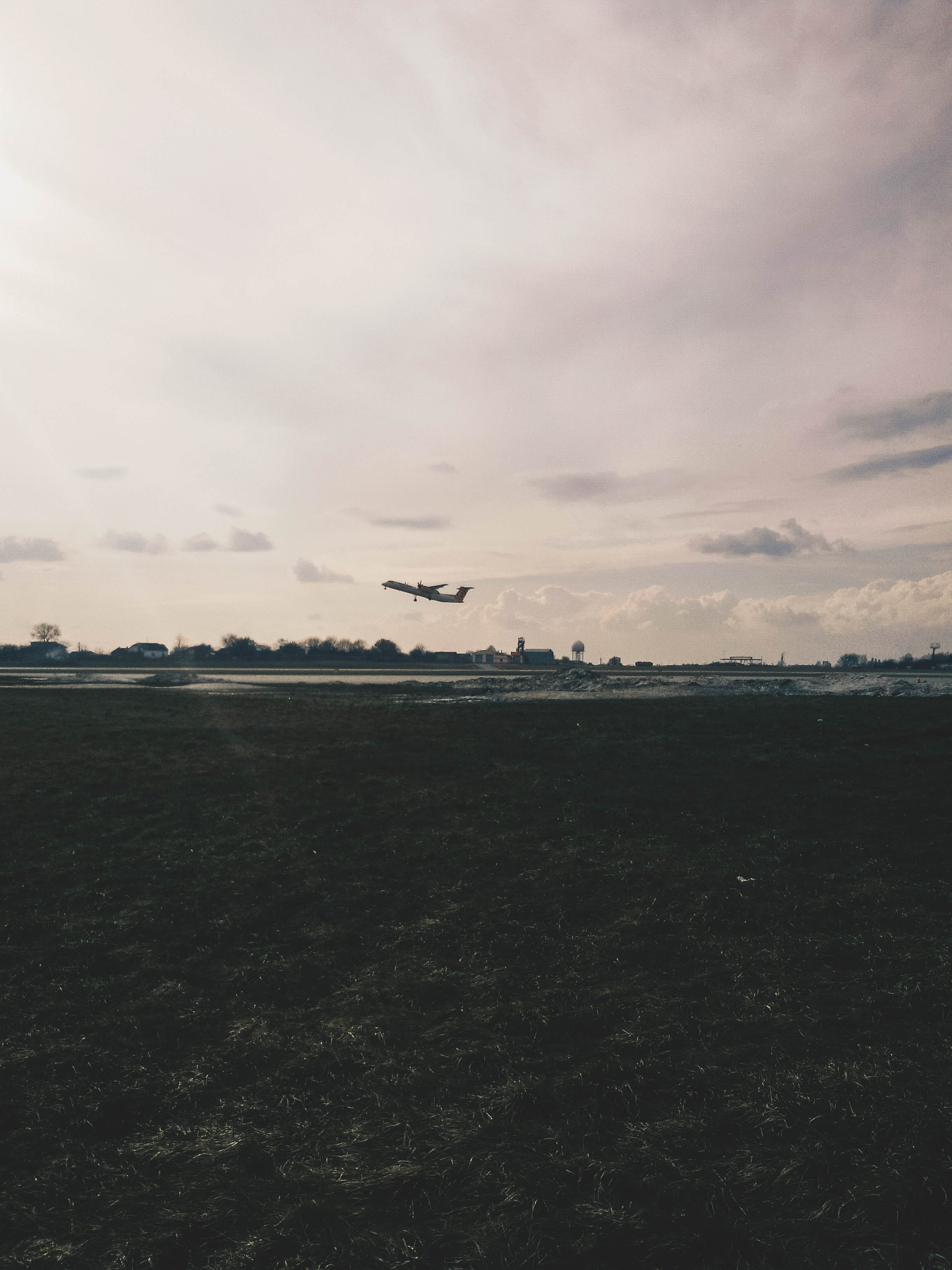 Free stock photo of airplane, airport, freedom, grass