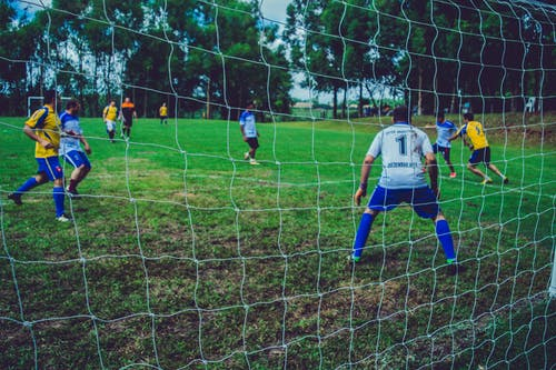 Free stock photo of ball, football, football field