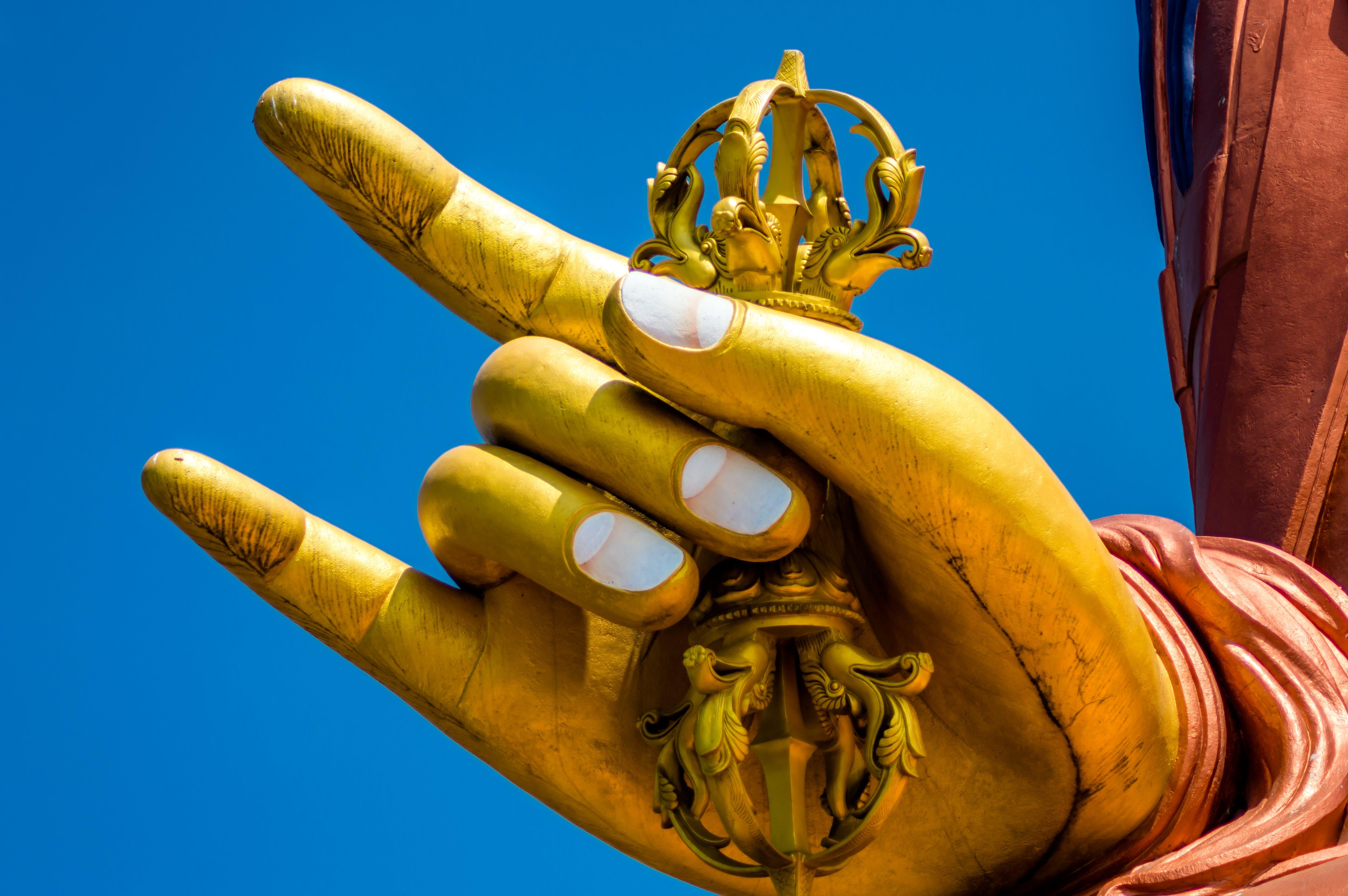 Buddha Hand Statue