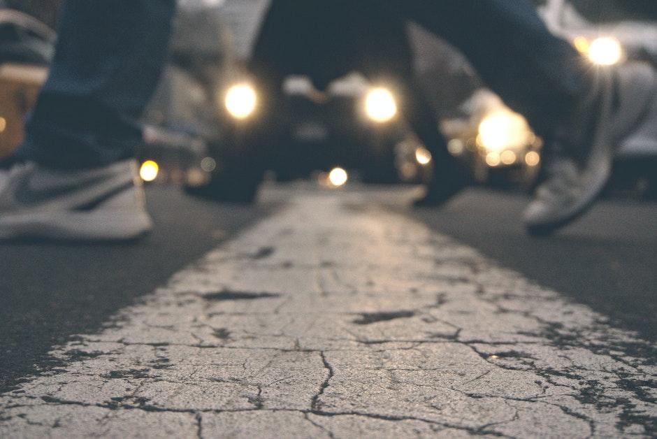 action, adult, asphalt