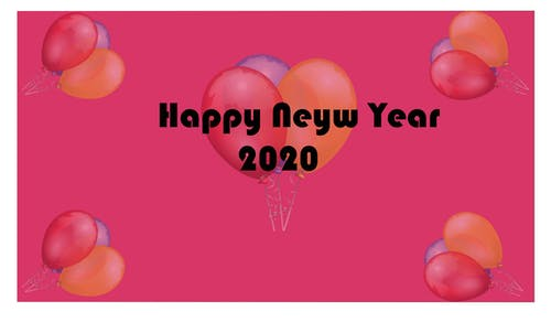 Free stock photo of 2020, happy, new year