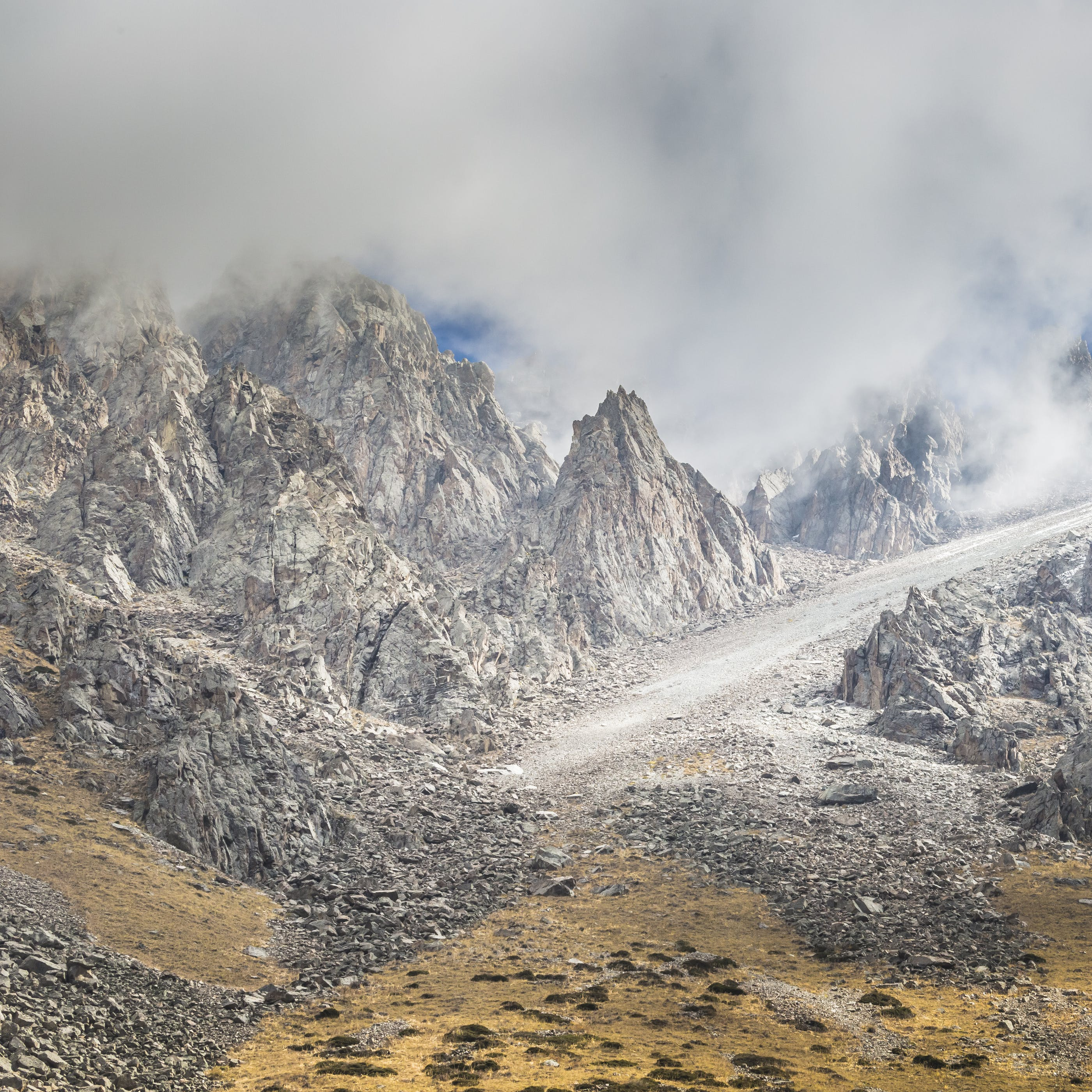 Landscape Photography of Mountains Covered With Fog