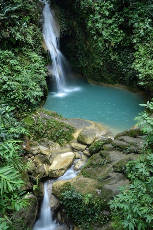 Free stock photo of bhoot khola, blue lake, flowing river