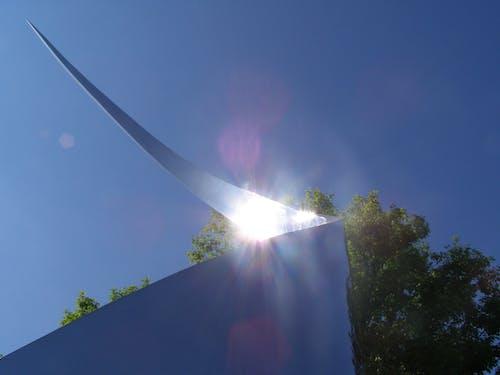 Kostenloses Stock Foto zu blauer himmel, dayton, himmel, kunst