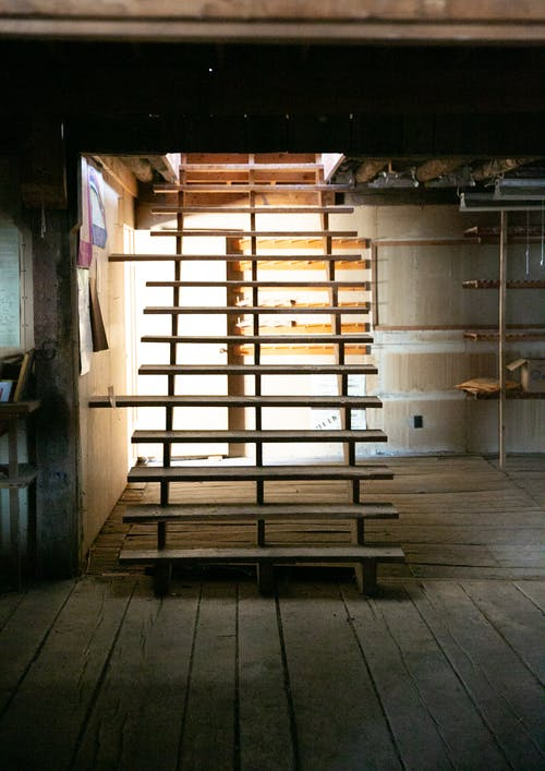 Free stock photo of barn, light, staircase, stairs