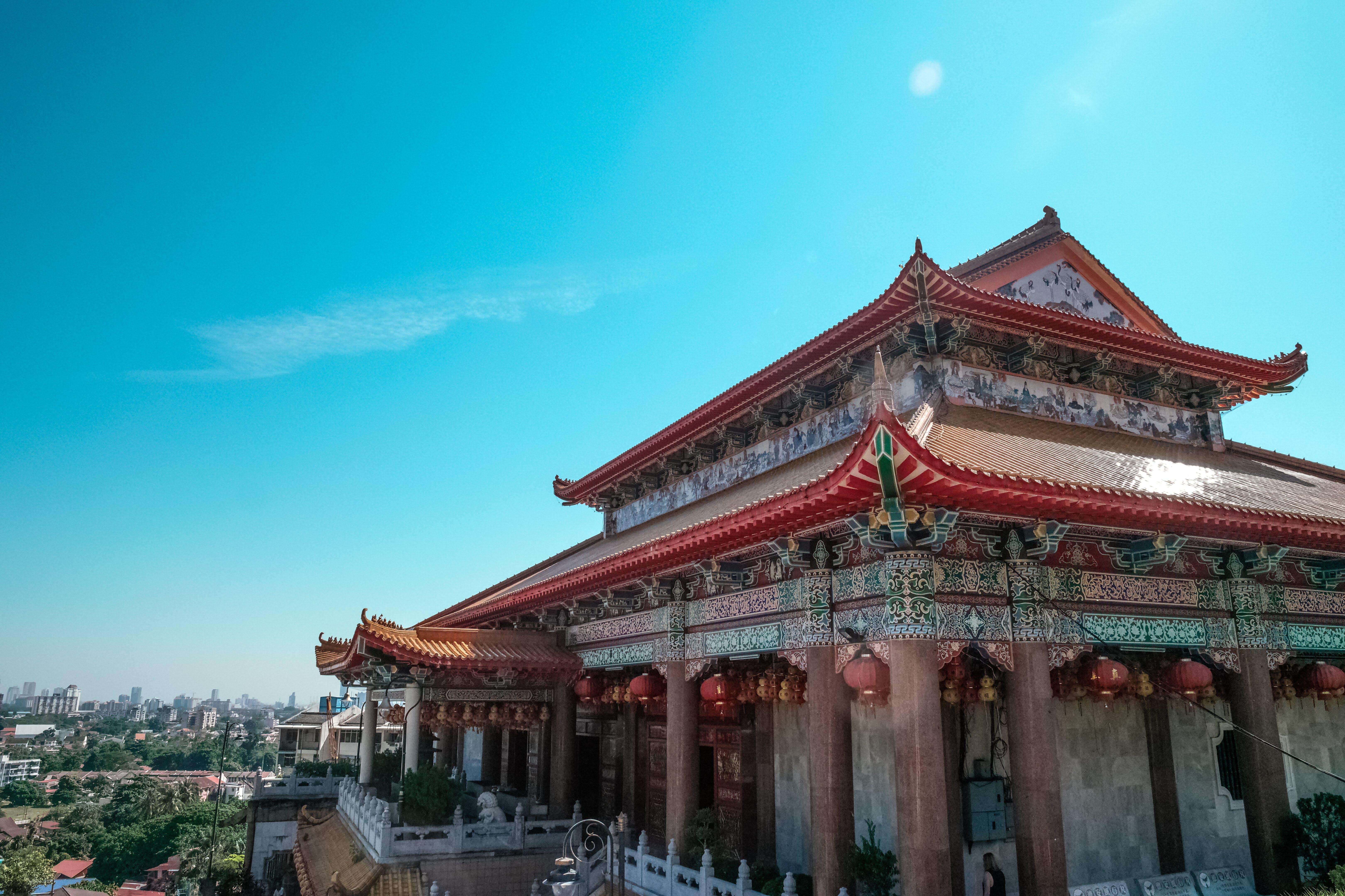 architektura, budova, chrám