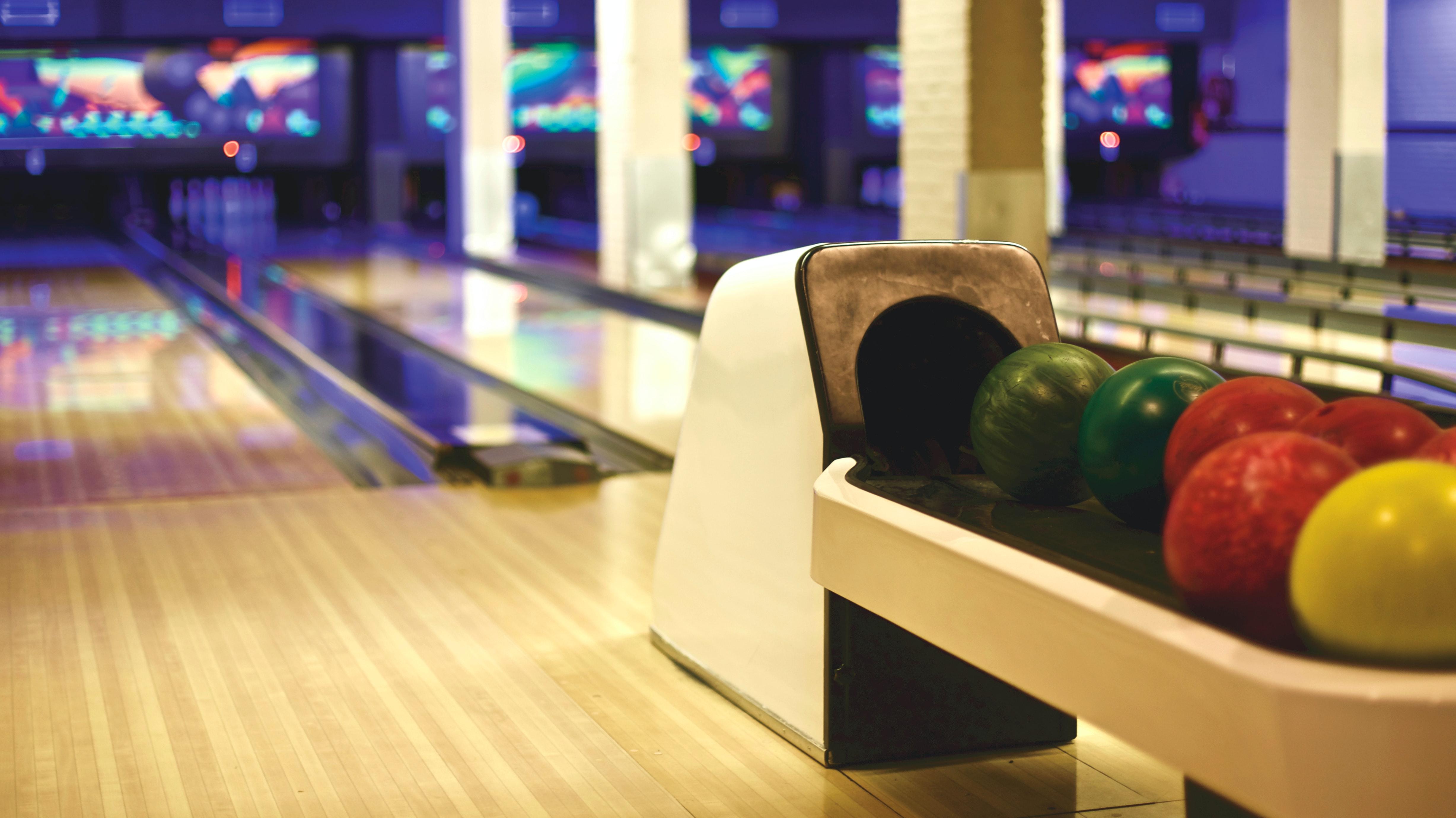 Unique Design Indoor Bowling Alley glitterandgarland