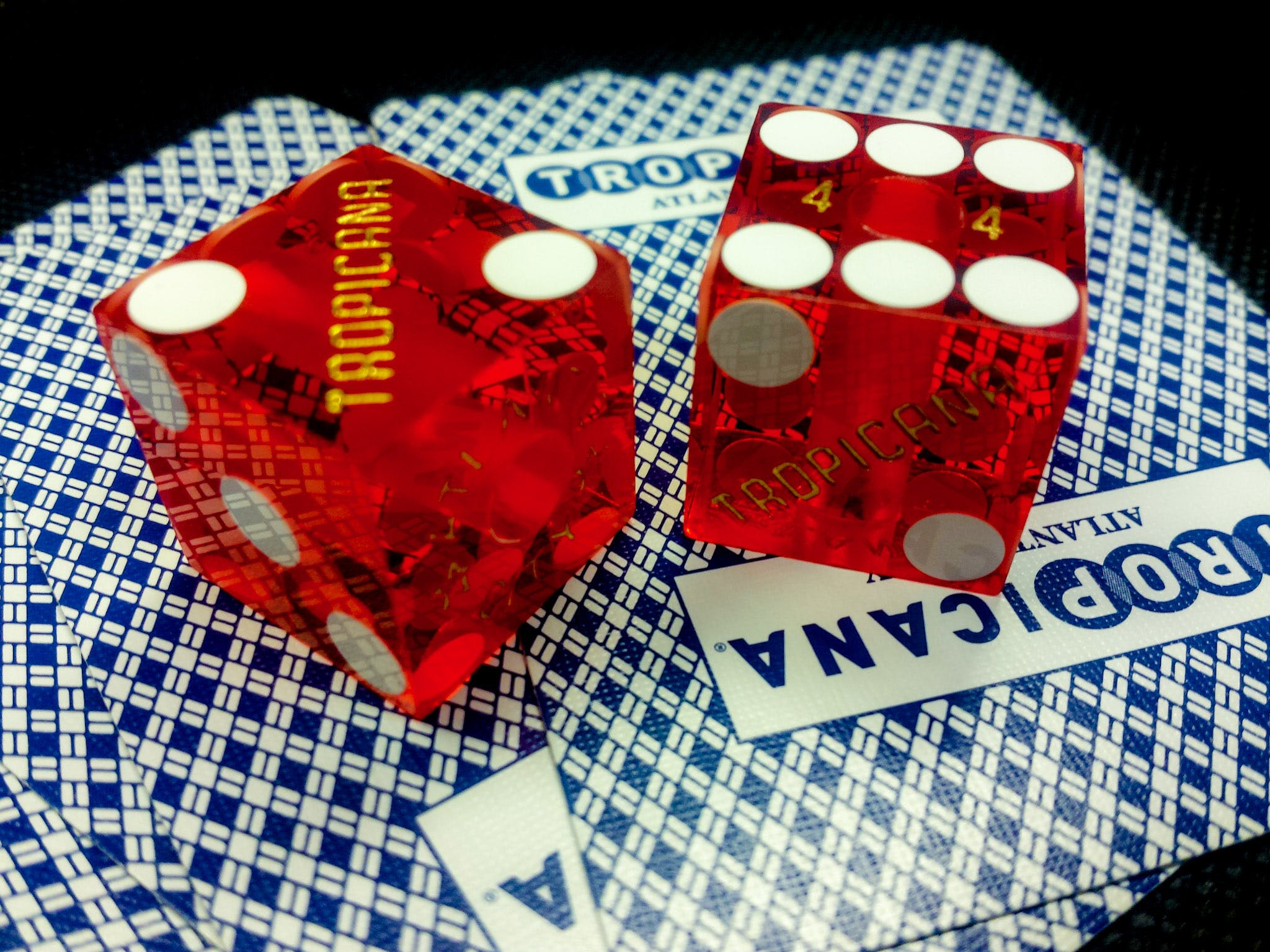 Free stock photo of card game, cards, casino, dice