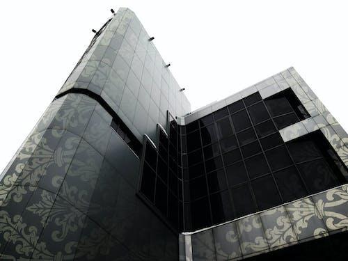 Základová fotografie zdarma na téma architektura, budova, černobílý, mrakodrap