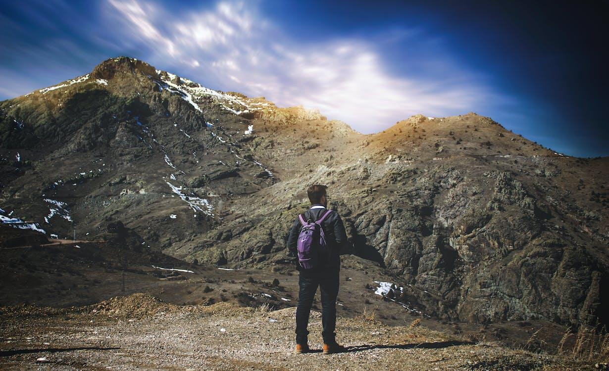 alpinista, aventura, caminada