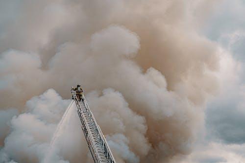 A Fireman At Work