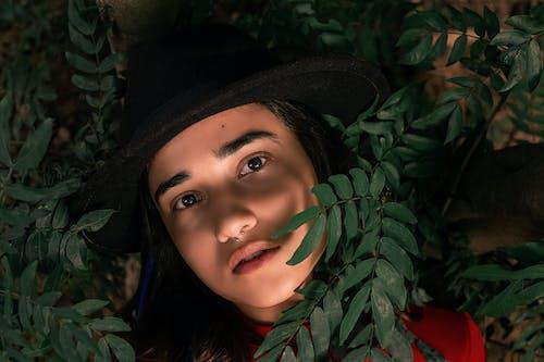 나뭇잎, 매력적인, 모델, 사람의 무료 스톡 사진
