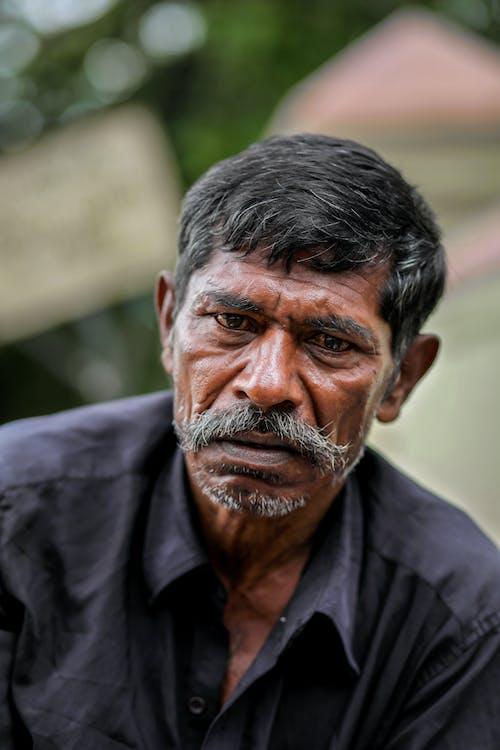 Kostnadsfri bild av äldre, äldre man, ansikte, ansiktshår