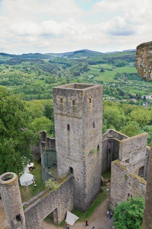 Photos gratuites de âge moyen, cailloux, château, forteresse