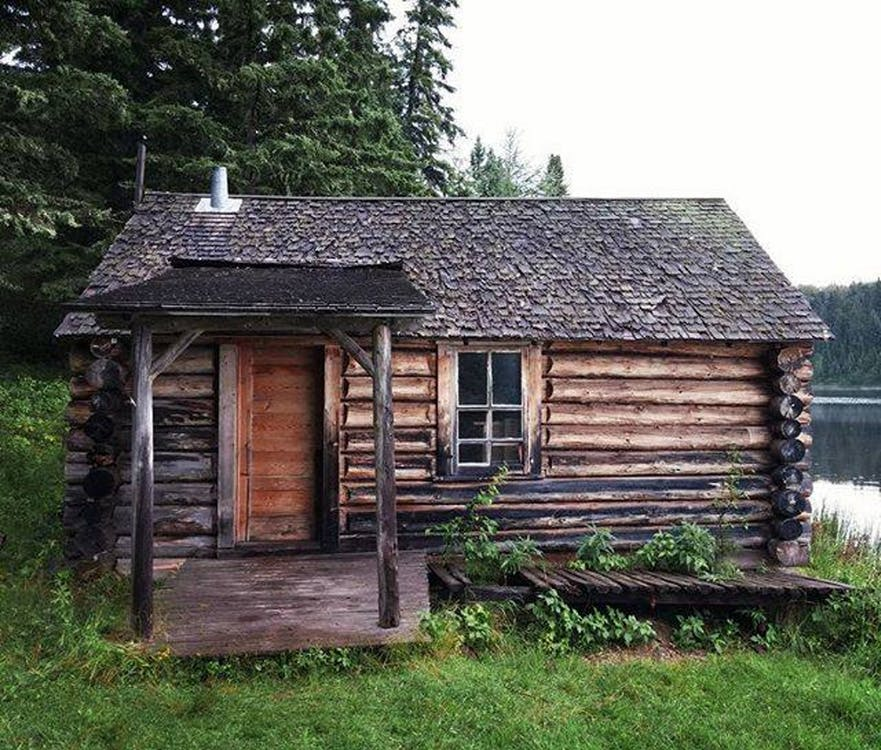 Free stock photo of cabin, cabin on the lake, little shack