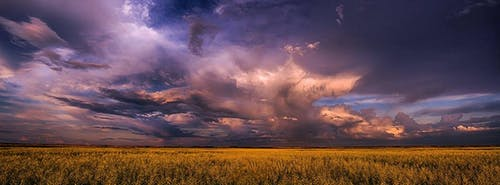 Darmowe zdjęcie z galerii z burza, burza stepowa, chmury, preria