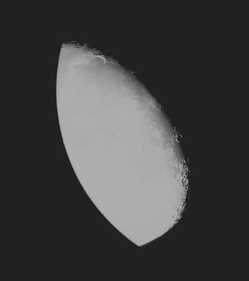 Ilmainen kuvapankkikuva tunnisteilla kaukoputki, kontrasti, kuu, tässä tulee kuu