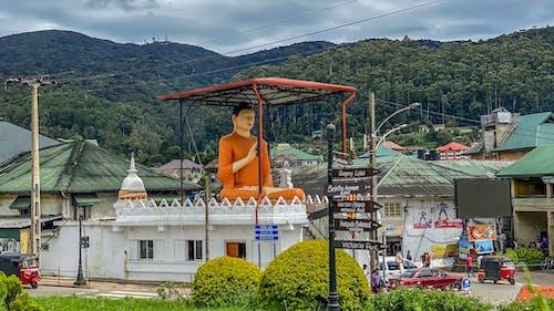 Základová fotografie zdarma na téma buddha, hory, kopce