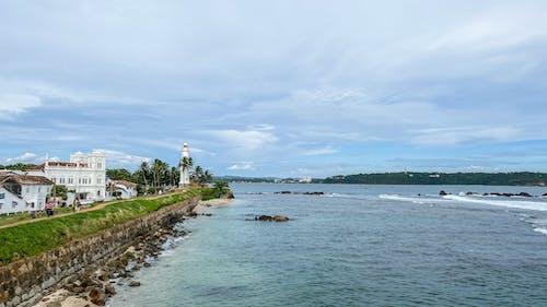 Základová fotografie zdarma na téma bílý dům, galle fort, indický oceán