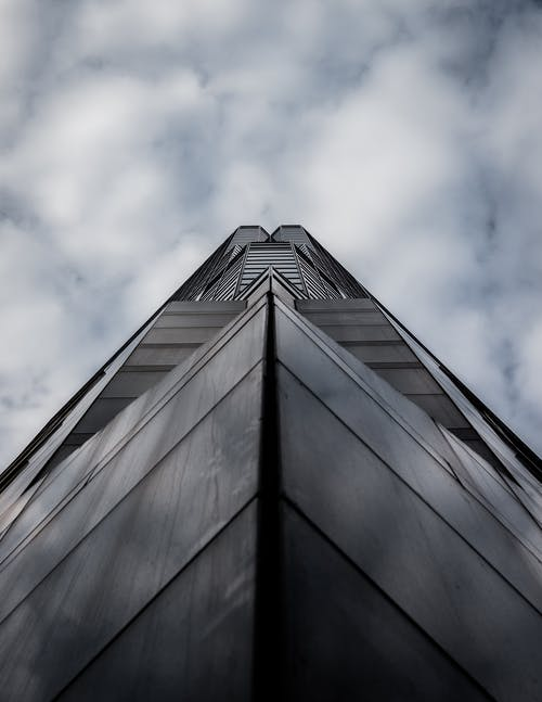 Low Angle Photography of Concrete High-Rise Building