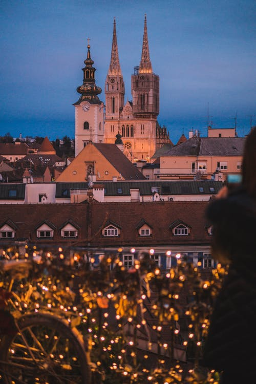 Free stock photo of advent, church, city