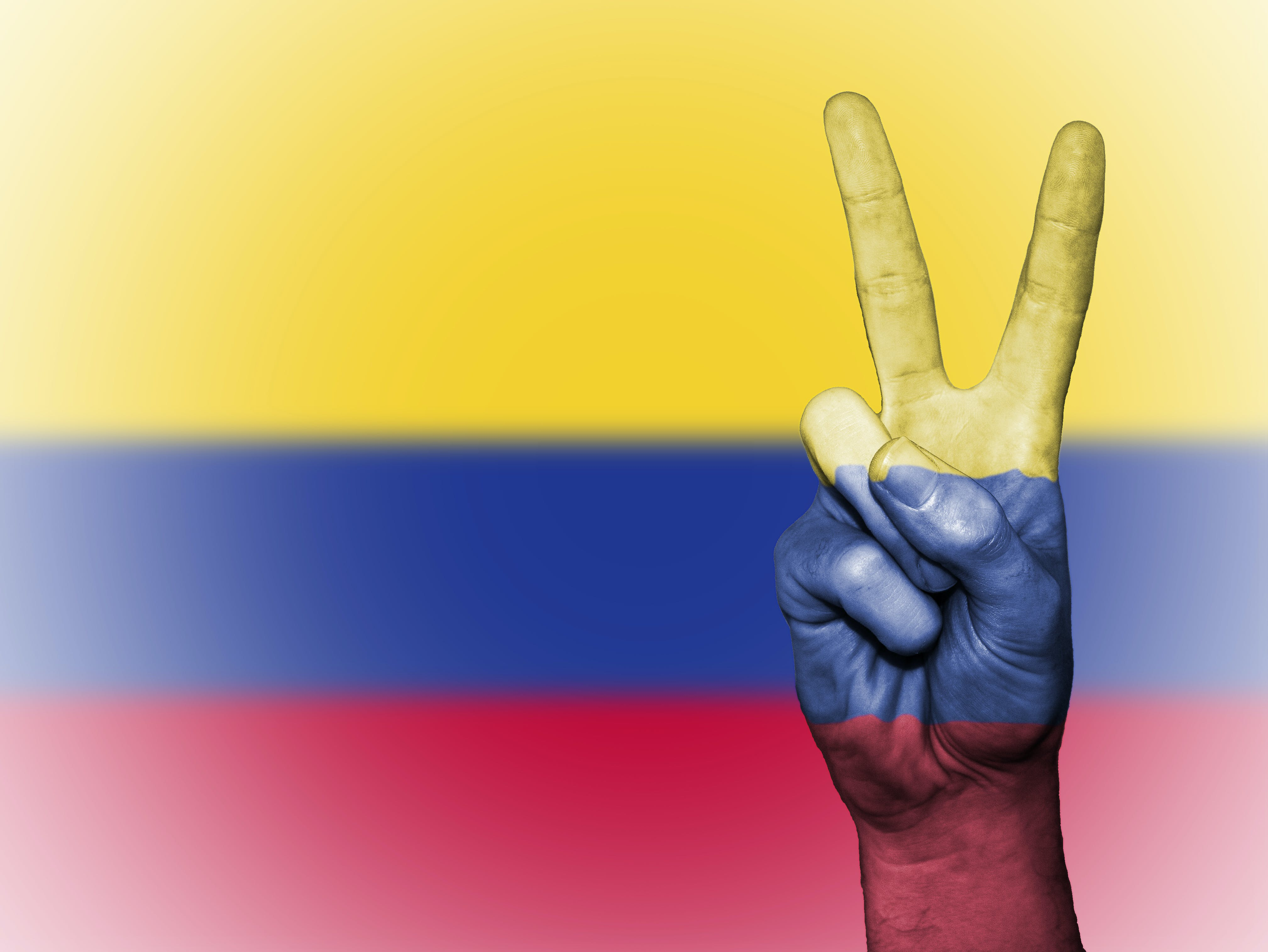background, banner, colombia
