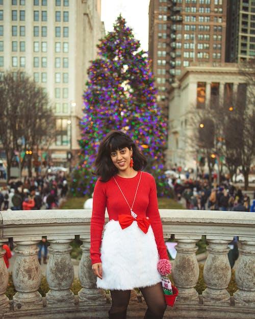 Бесплатное стоковое фото с рождественская елка