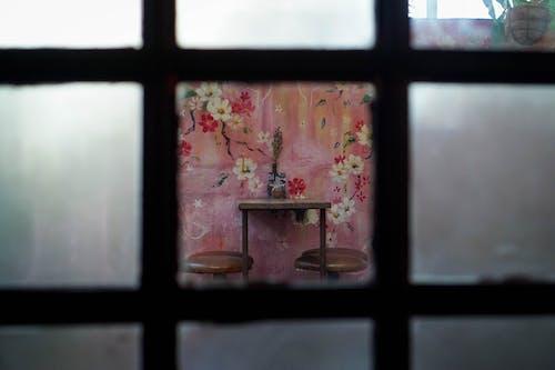 Free stock photo of chair, window
