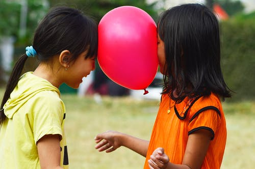 Бесплатное стоковое фото с воздушный шар, друг, лучший друг