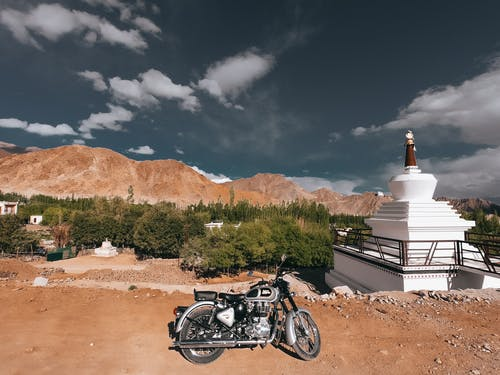 Free stock photo of bike, bikerider, road trip