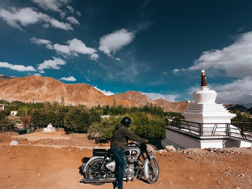 Free stock photo of bike, bike rider, roadtrip