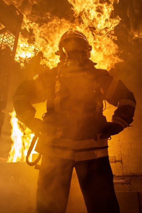 Gratis stockfoto met aangebrand, actie, brand